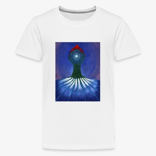 Drzewo Samotne - Koszulka młodzieżowa Premium