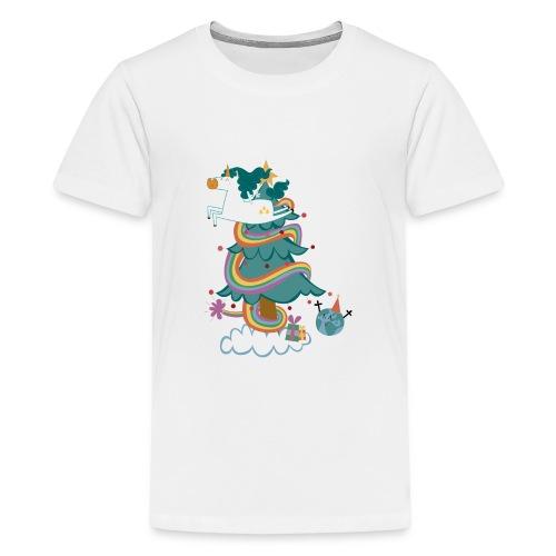 arbol-navidad - Camiseta premium adolescente
