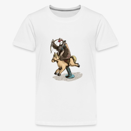 Partridge Rider - Teenage Premium T-Shirt