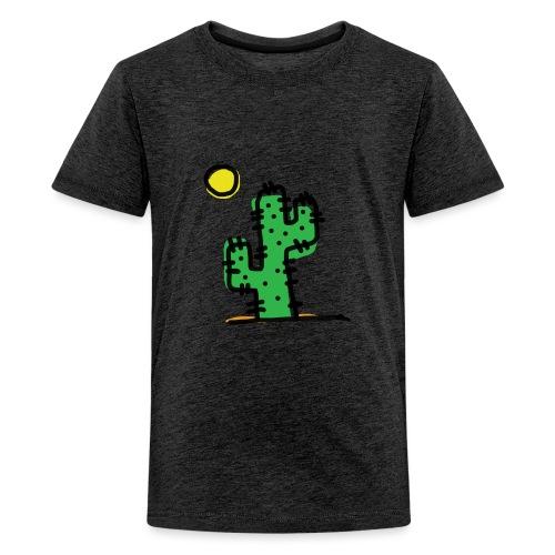 Cactus single - Maglietta Premium per ragazzi