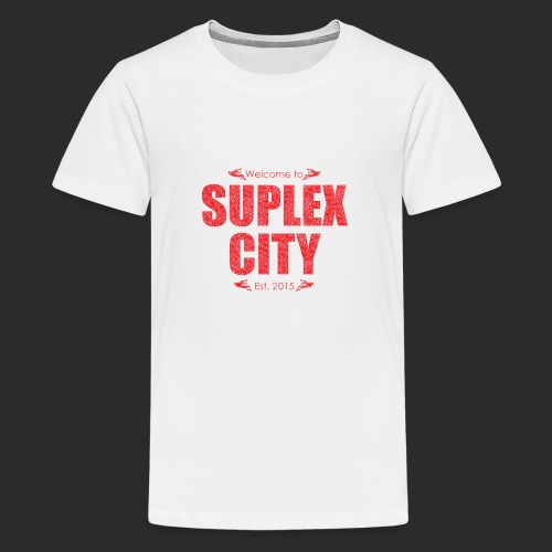 Suplex City Mens T-Shirt - Teenage Premium T-Shirt