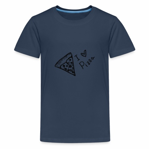 I LOVE PIZZA - Teenager Premium T-Shirt