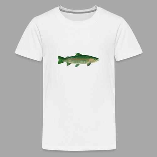 Mystical Trout - Teinien premium t-paita