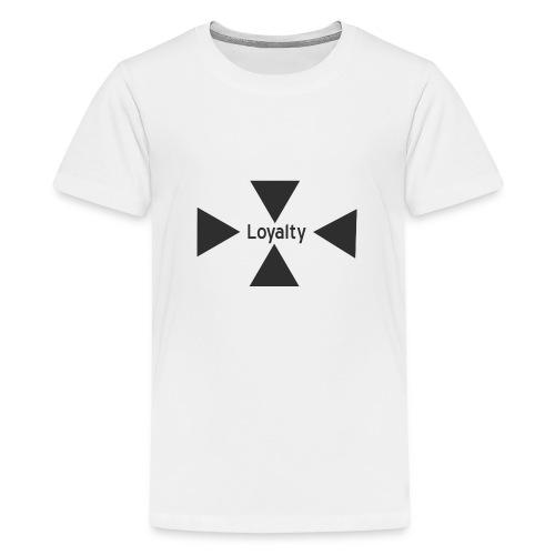 Loyalty logo big - Teenage Premium T-Shirt