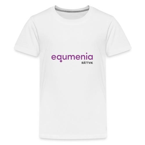 514871E3 904B 46EA A53E B42A678D0381 - Premium-T-shirt tonåring