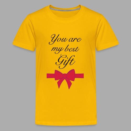 you are my best gift - Teenage Premium T-Shirt