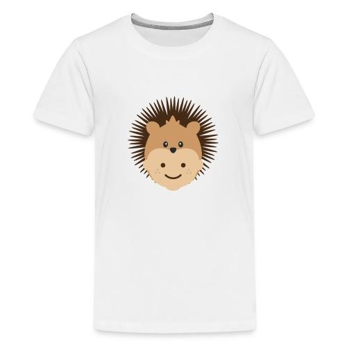 Fin the Hedgehog | Ibbleobble - Teenage Premium T-Shirt