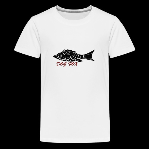 Dogfox Fisch - Teenager Premium T-Shirt