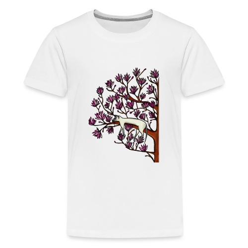 Magnolia - Premium-T-shirt tonåring