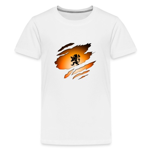 Dutch Inside: Leeuw - Teenager Premium T-shirt