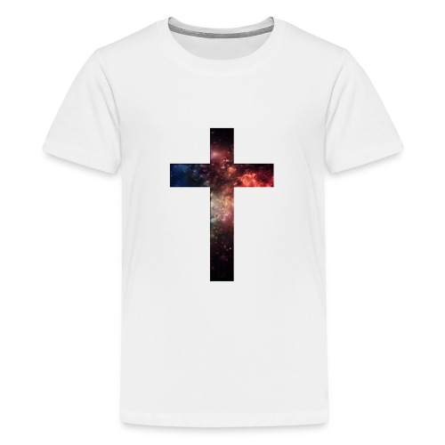 Cross Galaxy - Teenager Premium T-shirt