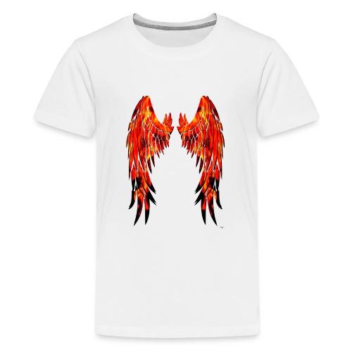 Fire wings - Camiseta premium adolescente
