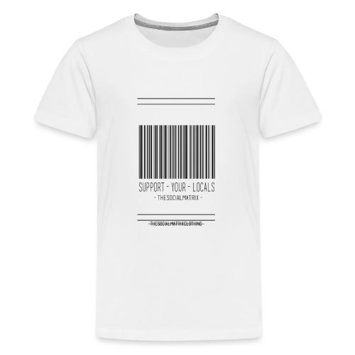 STEUN JE LOKAAL - Teenager Premium T-shirt