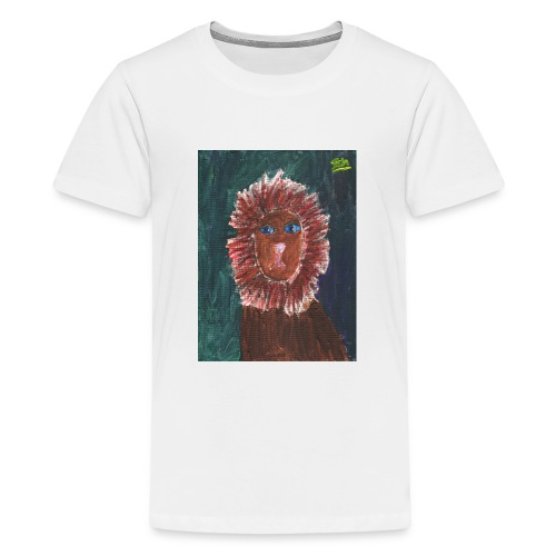 Lion T-Shirt By Isla - Teenage Premium T-Shirt