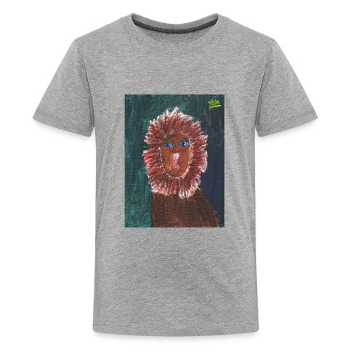 Lion T-Shirt By Isla - Teenage Premium T-Shirt