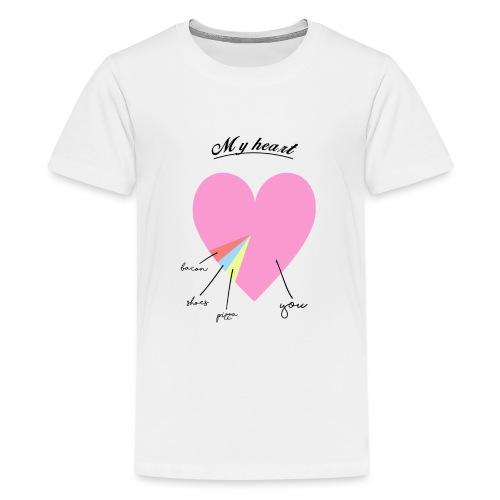 My heart - T-shirt Premium Ado