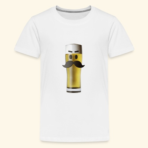 Beermoticon Mexican Lager - Teenage Premium T-Shirt