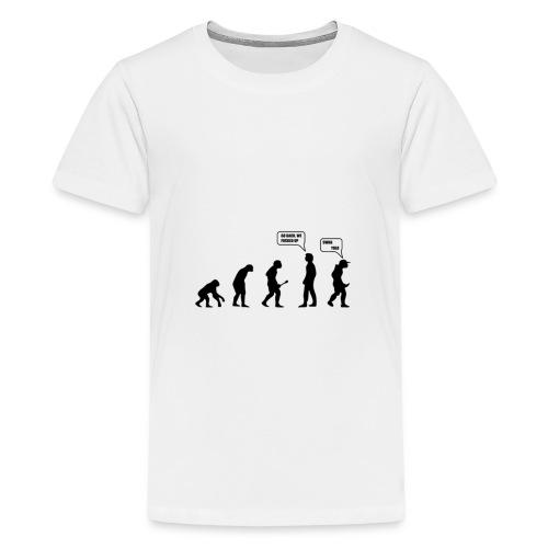 The evolution - T-shirt Premium Ado