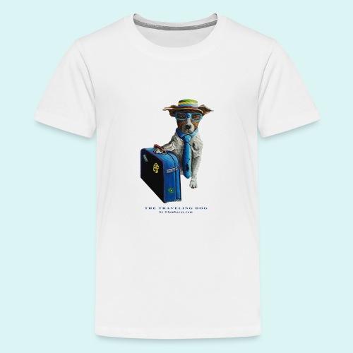 The Traveling Dog - Teenage Premium T-Shirt