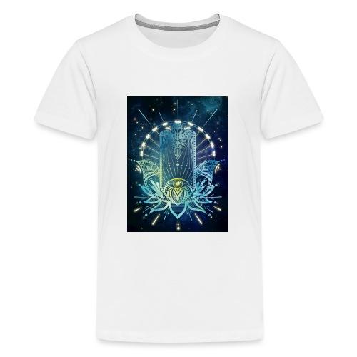 Hamsa Hand - Teenage Premium T-Shirt