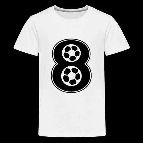 foot numero 8 - Teenage Premium T-Shirt