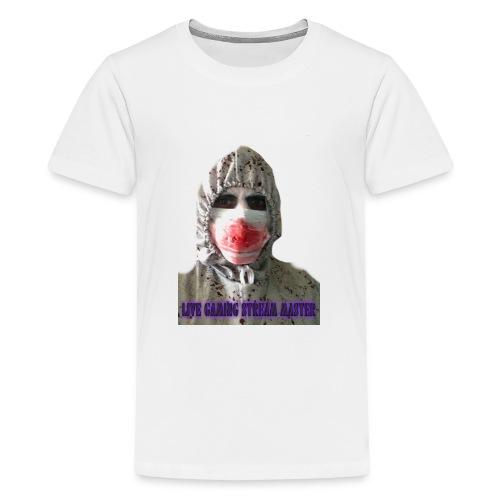 zombie live gaming stream master - Teenage Premium T-Shirt