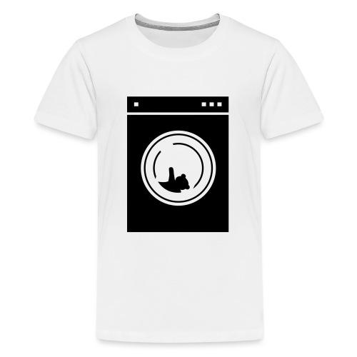 washing machine bear - T-shirt Premium Ado