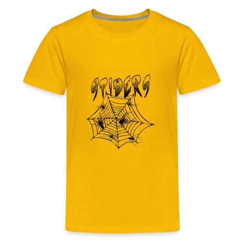 Spiders - Teinien premium t-paita