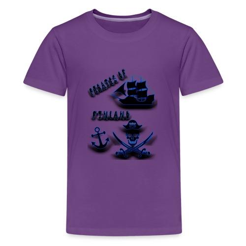Pirates - Teinien premium t-paita