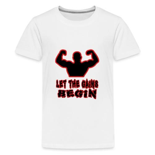 Gains - Teinien premium t-paita