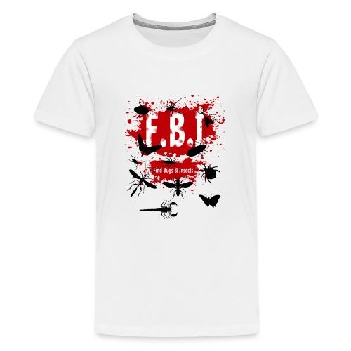 FBI - Teinien premium t-paita