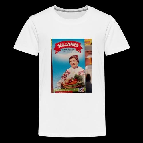 Babushka's fines - Teenage Premium T-Shirt