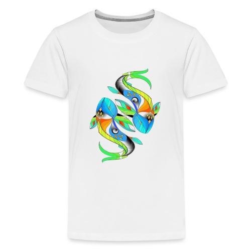 Regenbogenfische - Teenager Premium T-Shirt