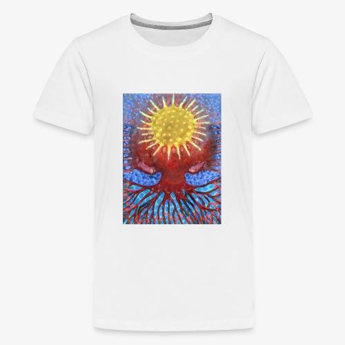 Niebiańskie Drzewo - Koszulka młodzieżowa Premium