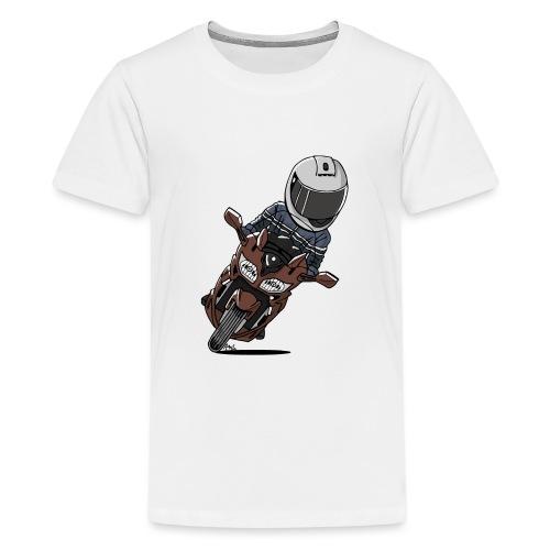0790 FJR1300 Magnetic Bronze - Teenager Premium T-shirt