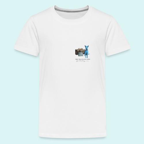 Laly-Blue - Teenage Premium T-Shirt