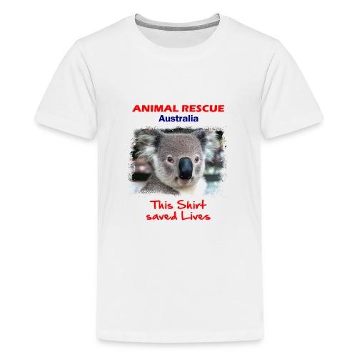 Australien KOALA RESCUE - Spendenaktion - Teenager Premium T-Shirt