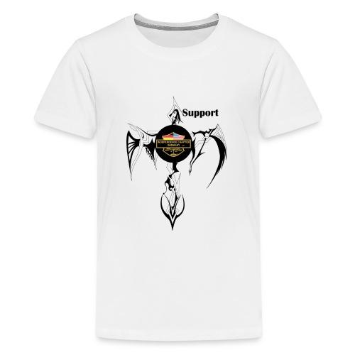 Support Indis Art Tattoo - Teenager Premium T-Shirt