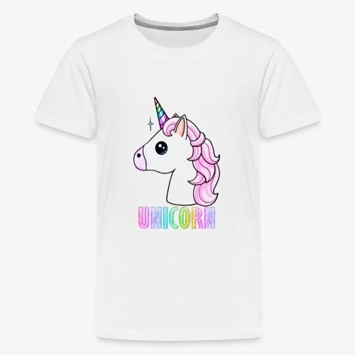 Unicorn - Maglietta Premium per ragazzi