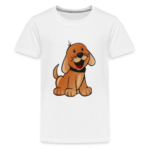 cartoon dog - Maglietta Premium per ragazzi