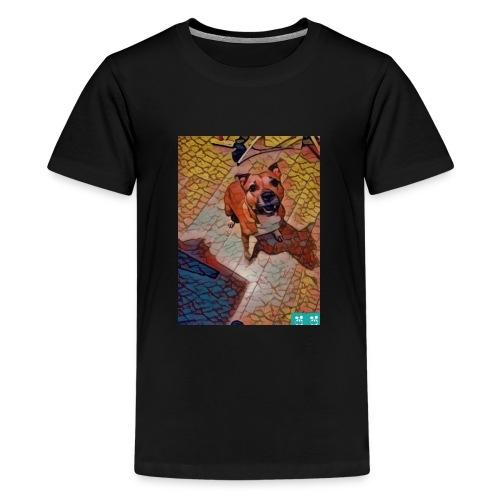 Foxy in kleur - Teenager Premium T-shirt