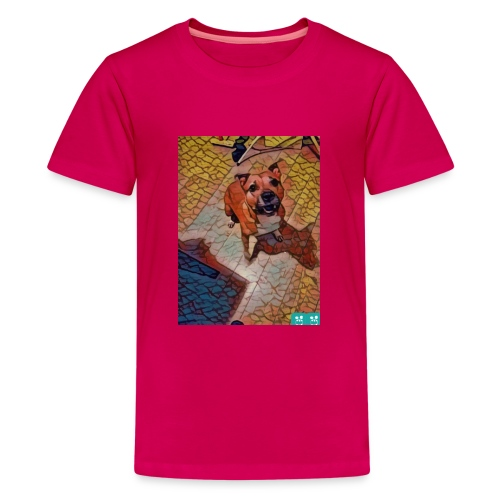 Foxy in kleur - Teenager Premium T-shirt