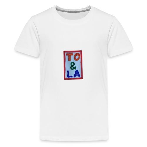 TO & LA - Koszulka młodzieżowa Premium