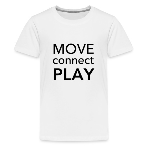 Move Connect Play - AcroYoga International - Teenage Premium T-Shirt