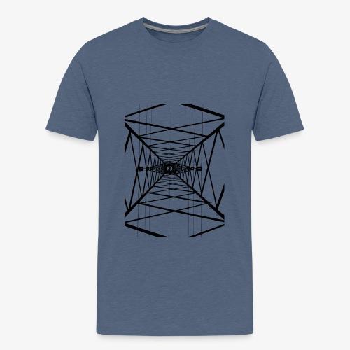 Hochmast V2 Schwarz - Teenager Premium T-Shirt