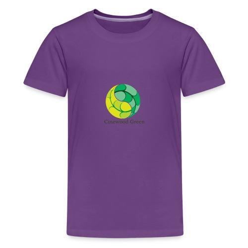 Cinewood Green - Teenage Premium T-Shirt