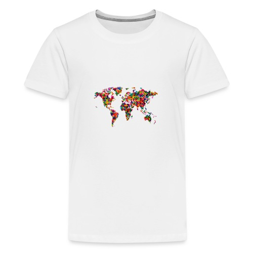 World Love - T-shirt Premium Ado