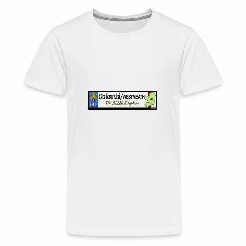 WESTMEATH, IRELAND: licence plate tag style decal - Teenage Premium T-Shirt