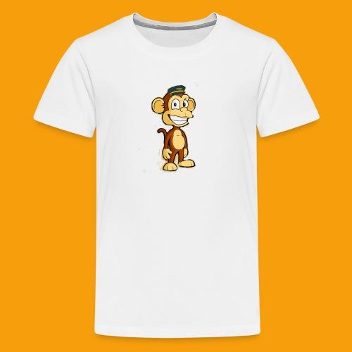 apepilot logo - Premium T-skjorte for tenåringer