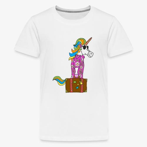 Unicorn trip - T-shirt Premium Ado